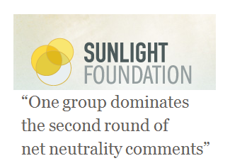 One group dominates the second round of net neutrality comments